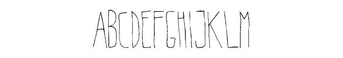 Belta Light Font LOWERCASE