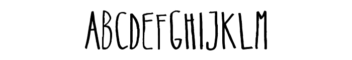 Belta Regular Font UPPERCASE