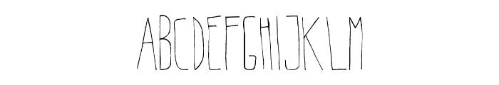 BeltaLight Font UPPERCASE