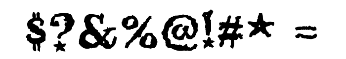 Beltane Font OTHER CHARS