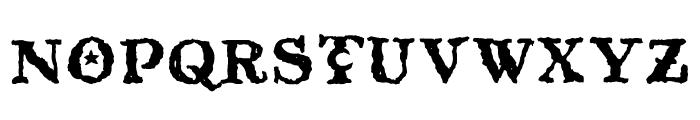 Beltane Font UPPERCASE
