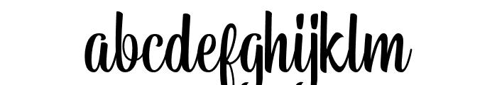 BelymonScriptDEMO Font LOWERCASE