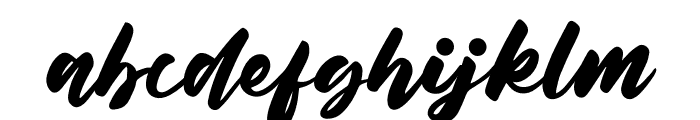 Belynda Font LOWERCASE