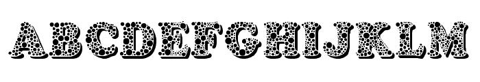 Bemydor Font UPPERCASE
