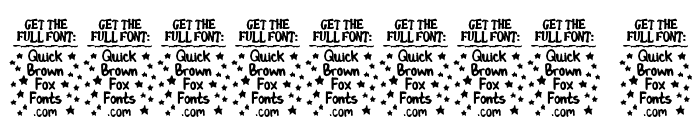 Ben Brown [Demo Version] Font OTHER CHARS