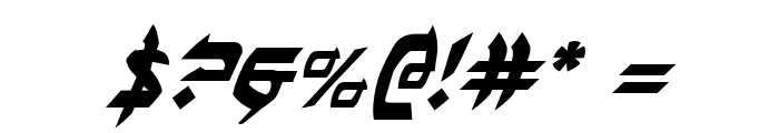 Ben-Zion Italic Font OTHER CHARS