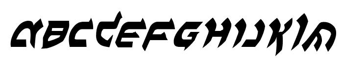 Ben-Zion Italic Font UPPERCASE