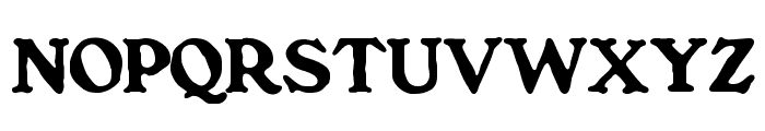 BenFranklin Font UPPERCASE