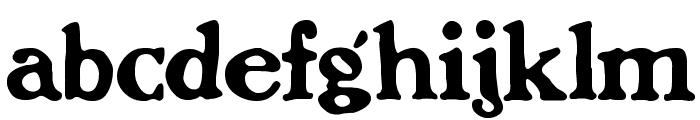 BenFranklin Font LOWERCASE