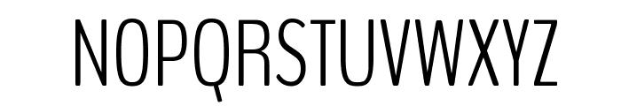 BenchNine Light Font UPPERCASE