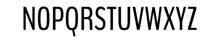BenchNine Regular Font UPPERCASE