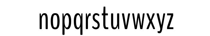 BenchNine Regular Font LOWERCASE