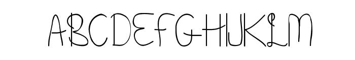Beneath Your Beautiful Regular Font UPPERCASE