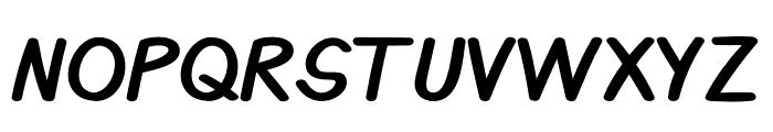 Benja Font UPPERCASE