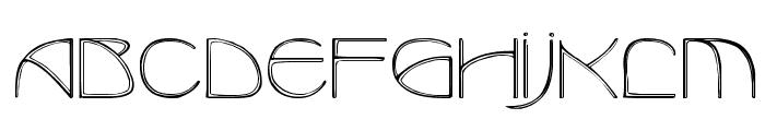BenjaminCaps Caps:001.001 Font UPPERCASE