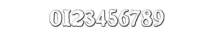 BenjaminFranklin Beveled Font OTHER CHARS