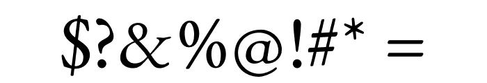 Benne-Regular Font OTHER CHARS