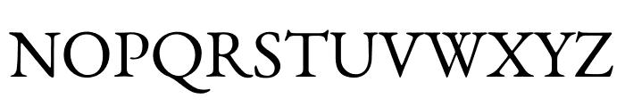 Benne-Regular Font UPPERCASE