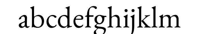 Benne-Regular Font LOWERCASE