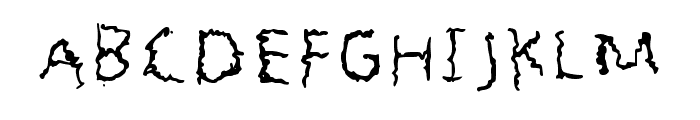 Benont Regular Font UPPERCASE