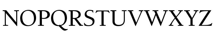 BensonOldStyleOpti-Medium Font UPPERCASE