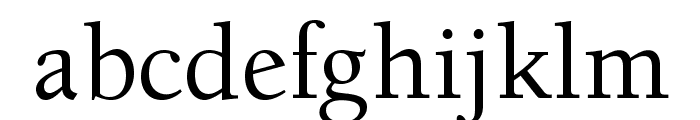 BensonOldStyleOpti-Medium Font LOWERCASE