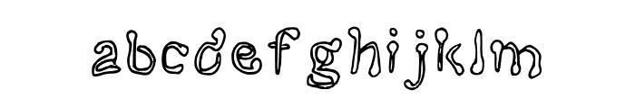 Bent Spoons Medium Font LOWERCASE
