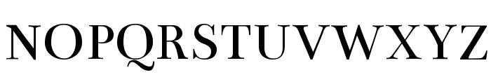 Bentham Font UPPERCASE