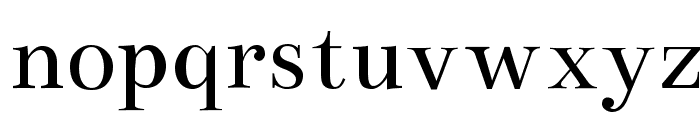 Bentham Font LOWERCASE