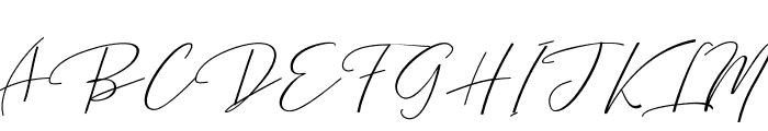 Bentosa Font UPPERCASE