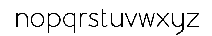 Beo Font LOWERCASE