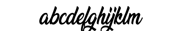 Beredith Personal Use Font LOWERCASE