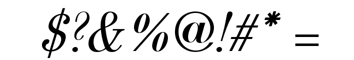 Berenis ADF Pro Italic Font OTHER CHARS