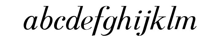 Berenis ADF Pro Italic Font LOWERCASE