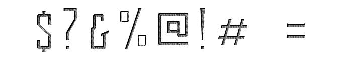 Berg Inner Ornament Font OTHER CHARS