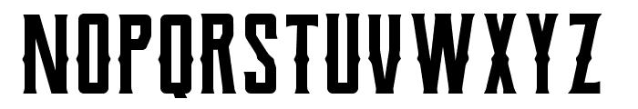 Berg Western Regular Font UPPERCASE