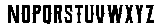 Berg Western Regular Font LOWERCASE