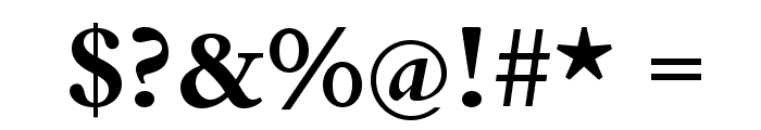 BergamoStd-Bold Font OTHER CHARS