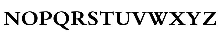 BergamoStd-Bold Font UPPERCASE