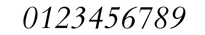 BergamoStd-Italic Font OTHER CHARS