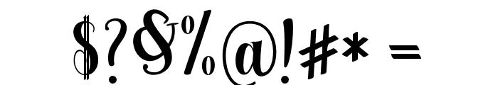 Berkarya Font OTHER CHARS