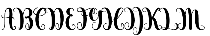 Berkarya Font UPPERCASE