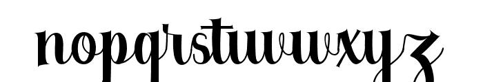 Berkarya Font LOWERCASE