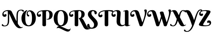 Berkshire Swash Regular Font UPPERCASE