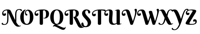 BerkshireSwash-Regular Font UPPERCASE