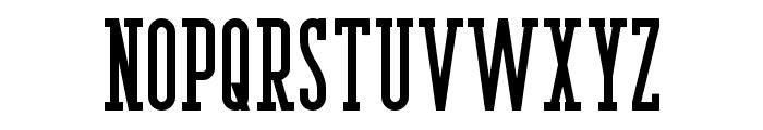Berlin Email Serif Semibold Font UPPERCASE
