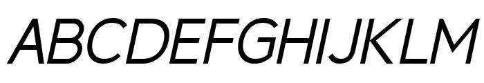 Berlin Italic Font UPPERCASE