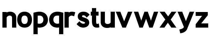 Berlin X-Bold Font LOWERCASE