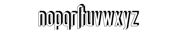 BerlinEmailSchaddow Font LOWERCASE