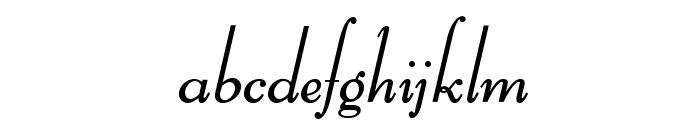 BernHardOpti-LightCursive Font LOWERCASE